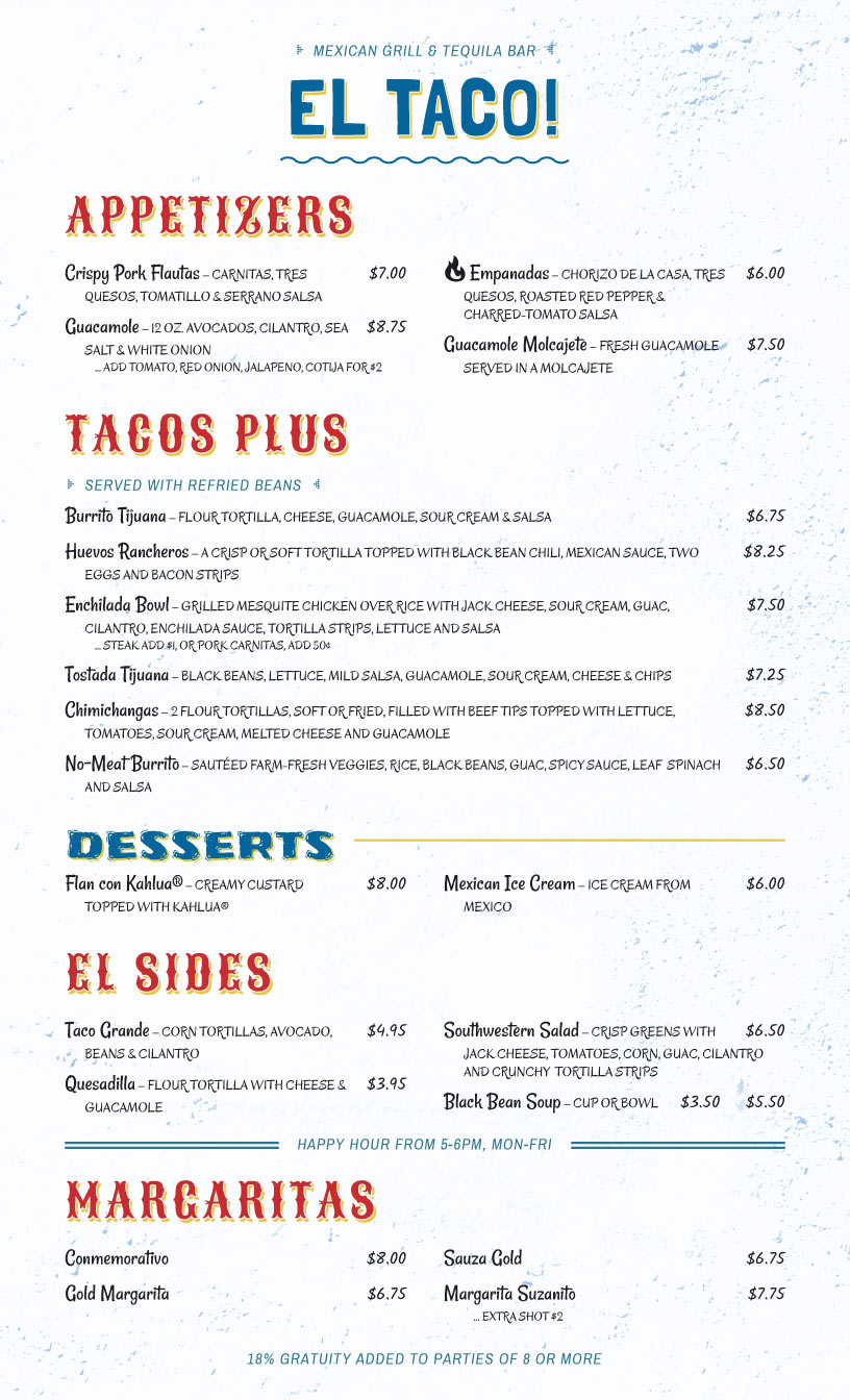 menu design samples from imenupro