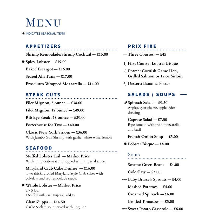 Imenupro · restaurant menu templates software